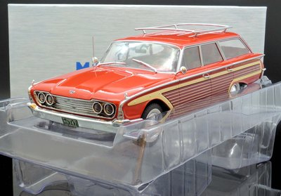 【M.A.S.H】現貨瘋狂價 Model Car Group 1/18 Ford Country Squire red