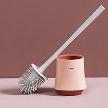 浴室自動風干馬桶刷套裝衛生間清潔刷 家用廁所坐便器刷子潔廁刷【優品城】