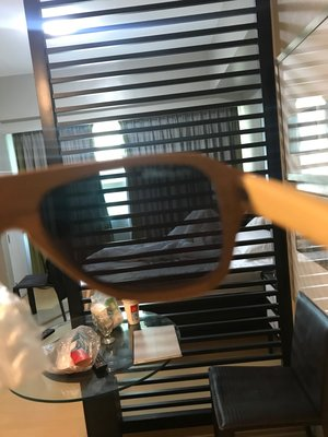 誠品賣9800,超帥美國原木製手工STRAIGHTFORWARD防眩POLARIZED鏡片太陽眼鏡