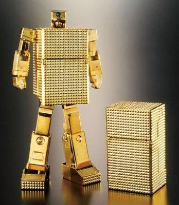 超合金魂 GX-32 黃金戰士 18k金