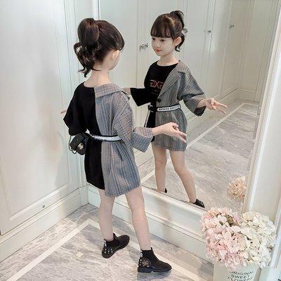 這有你想要的 優惠免運 童裝女童秋裝韓版兒童春秋季女孩--初服