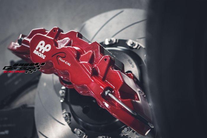 德朋國際 /  AP RACING CP8520 六活塞卡鉗套裝 BMW F10 520D 實裝