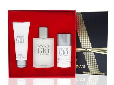 GIRORGIO ARMANI寄情水男性淡香水清新禮盒 三入【小7美妝】