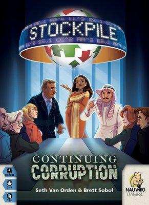 大安殿實體店面 Stockpile Continuing Corruption 縱橫股海擴充 英文正版益智桌遊