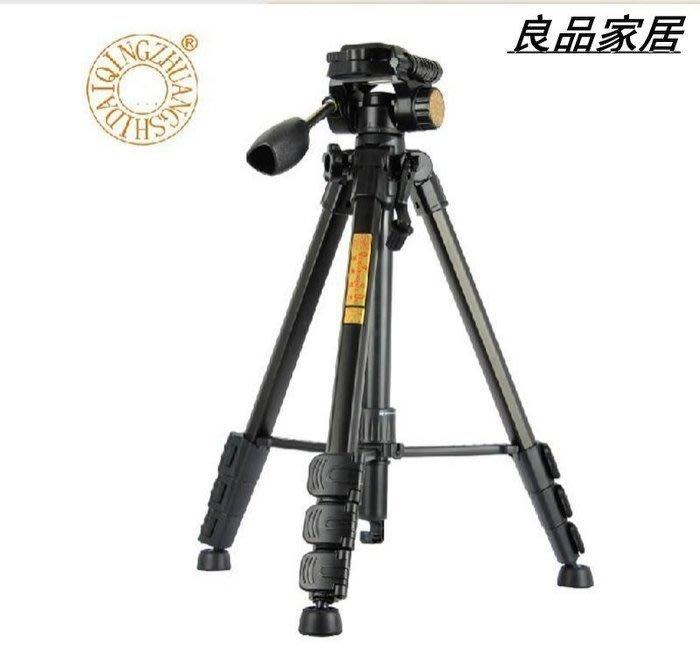 【優上精品】輕裝時代Q111三腳架佳能尼康便攜單反相機DV攝像機三角架雲臺配(Z-P3141)