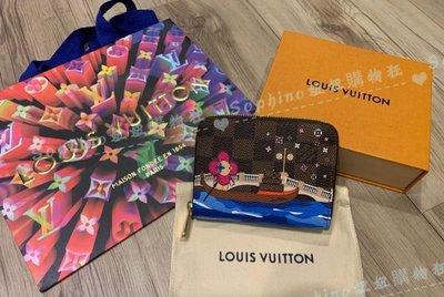 LV  N60258 ZIPPY COIN PURSE 限定款 聖誕節 拉鍊 零錢包 預購