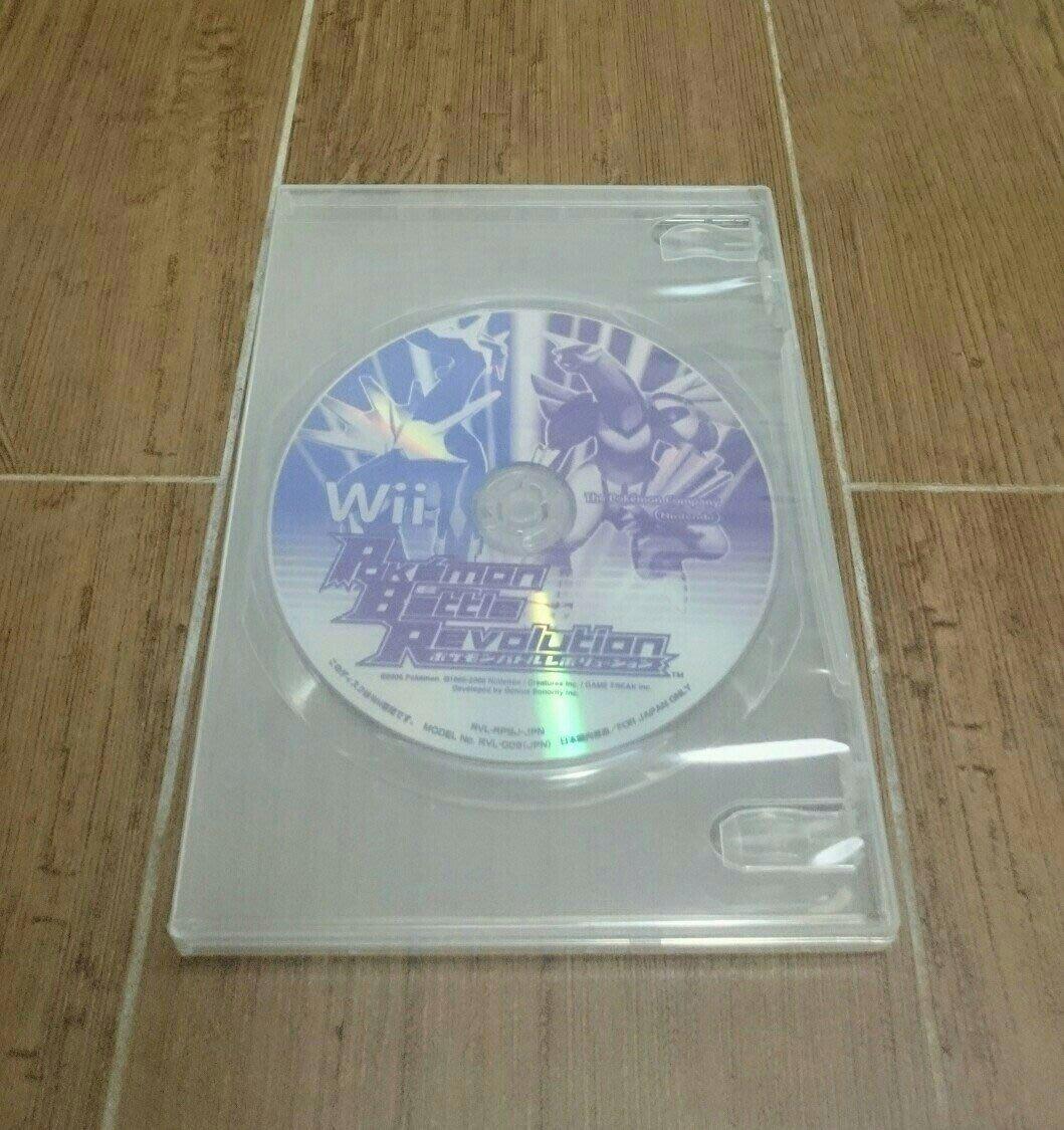 (售完)免運 Wii 【精靈寶可夢—戰鬥革命】日版日文 原版遊戲片 神奇寶貝 口袋怪獸 怪物向前走 Pokemon Nintendo 任天堂 Wiiu可玩