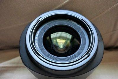 Canon EF 17-40mm F4L USM 鏡頭