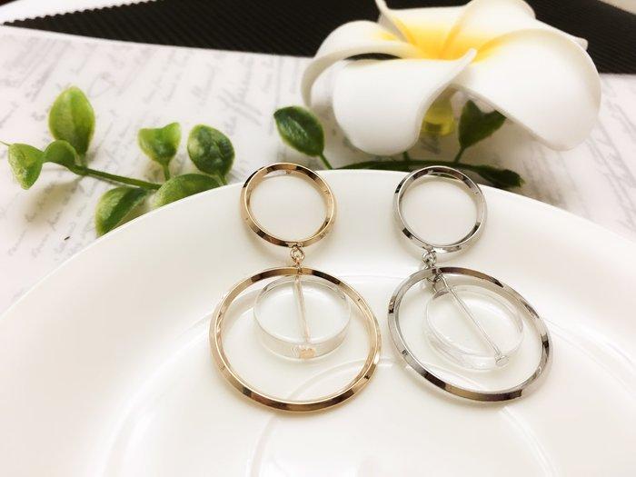 【寶寶王國】韓國造型銀針耳環 (商品編號 520-11686)