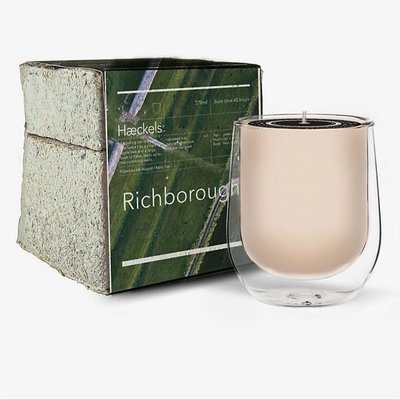 HAECKELS  Richborough 里奇伯勒 香氛蠟燭 蠟燭 270g 英國代購