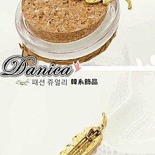 ❤髮飾❤韓國熱賣氣質甜美森林系復古小葉子髮夾/扣夾(2色)K7461單個價 限時特價 Danica 韓系飾品 韓國連線