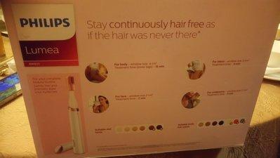Philps lumea prevent hair regrowth BRI923(有單有保養)