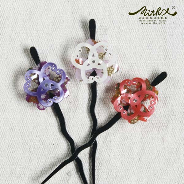 【MITHX】拈櫻,幸運花,髮簪,髮釵,髮插-三色