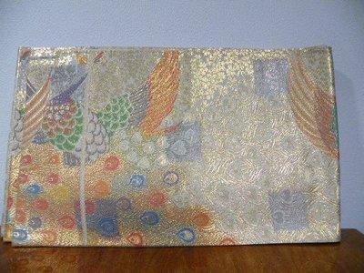 日本和服帯 鳳凰 有好幾個皺紋  中古~