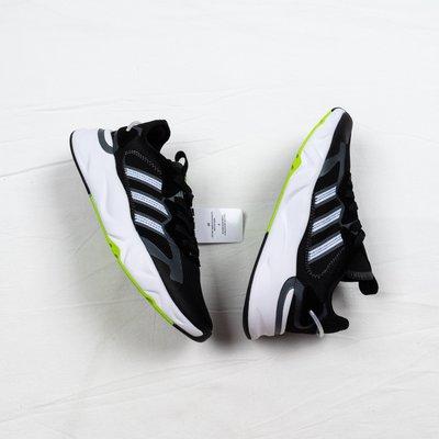 Adidas Neo FUTUREFLOW 黑白綠 透氣 休閒運動跑步鞋 男女鞋 FW3371