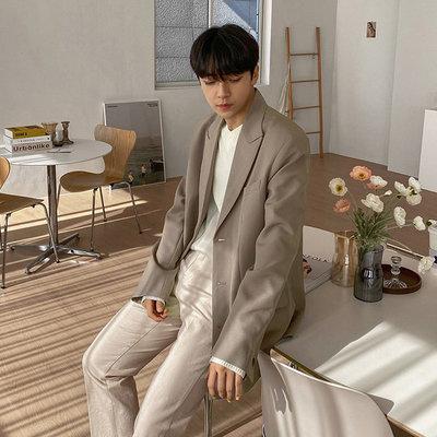正韓男裝 喬治長版西裝外套 / 2色 / FD1121114 KOREALINE 搖滾星球