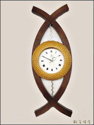木製造型時鐘 焦點 掛壁式掛鐘壁鐘 靜音時鐘藝術鐘石英鐘高質感知名大廠台灣設計生產客廳大器氣派時鐘 限量促銷【歐舍傢居】