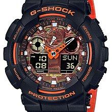 日本正版 CASIO 卡西歐 G-Shock GA-100BR-1AJF 男錶 手錶 日本代購