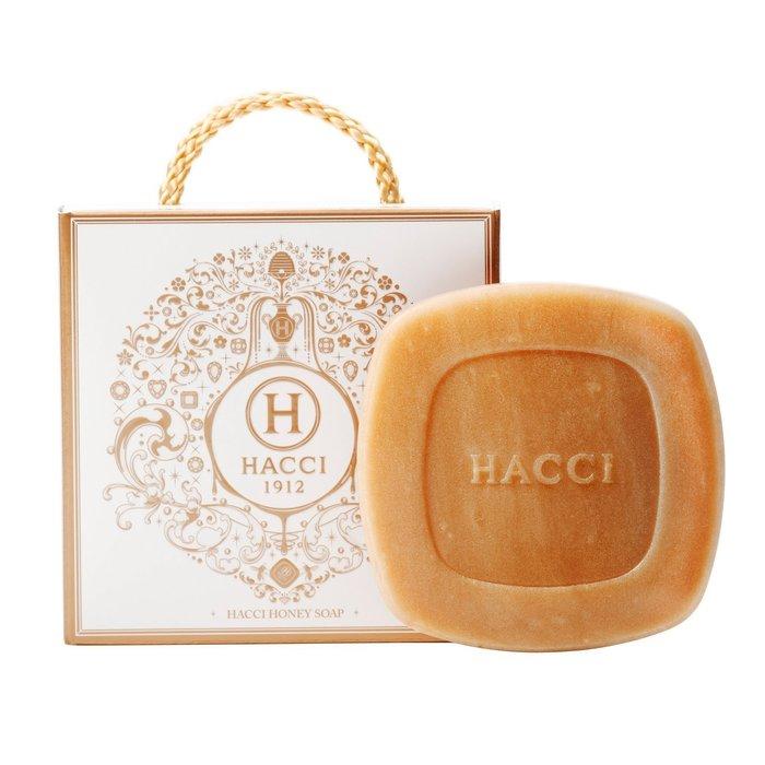 【日本代購】小店主的購物小店 HACCI 蜂蜜洗顏皂 80G はちみつ洗顔石けん 80g