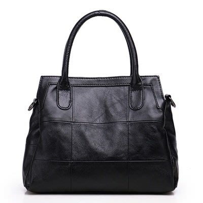 手提 包 真皮 側背包-牛皮大容量多隔層簡約女包包3色73wt13[獨家進口][米蘭精品]
