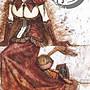 絕版 月夜夢行 Lunatic 塔羅複製畫集 鬼才繪師毅峰 Evan 台灣角川 2005