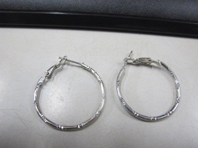 二手舖 NO.4544 時尚造型耳環 耳針 耳鉤 便宜賣 首飾飾品