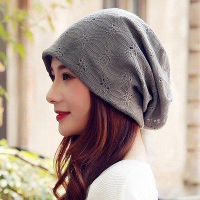 月子帽帽子女士春秋季時尚包頭帽防風透氣月子帽頭巾秋冬保暖光頭化療帽