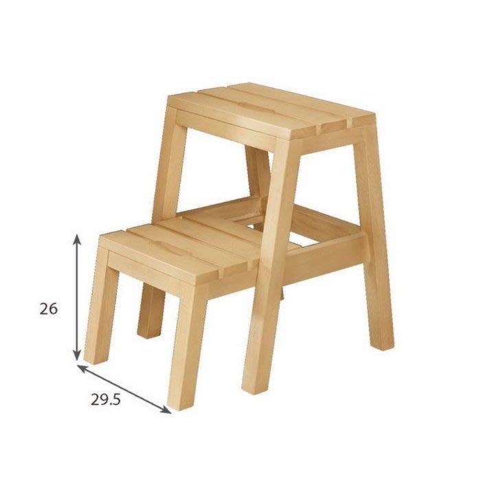 【DH】商品編號G1030-10商品名稱理查多功能樓梯(圖一)橡膠木實可。收合/拉開。多功能使用。備有黑色。主要地區免運費