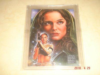 星際大戰 Padme Amidala 2009 Topps Star Wars Galaxy 球員卡