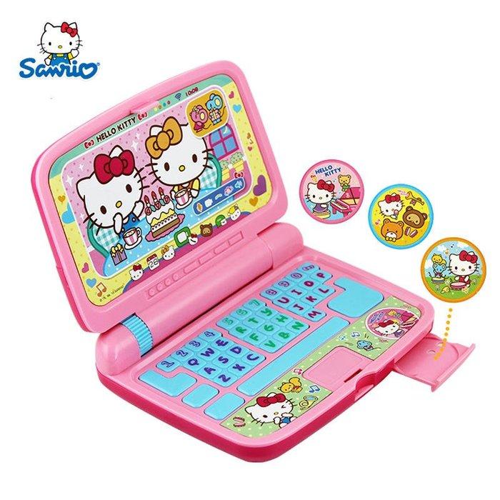 【W先生】Hello Kitty 凱蒂貓 小筆電 手提電腦 兒童電腦 女孩 家家酒 玩具