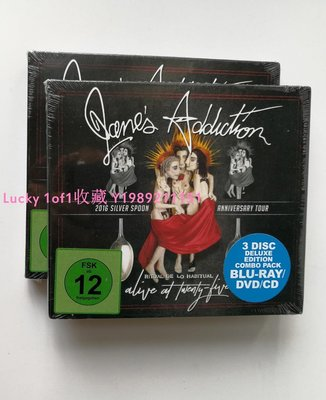Lucky 1of1收藏正版3碟 Jane's Addiction : Ritual de lo Habitual 藍光+CD