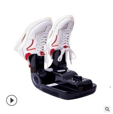 110V英文烘鞋器自動定時紫外線殺菌除臭烘鞋機幹鞋器@me11718