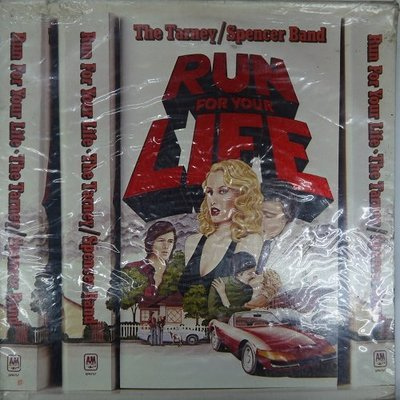 合友唱片 The Tarney / Spencer Band - RUN FOR YOUR LIFE 黑膠LP 面交自取