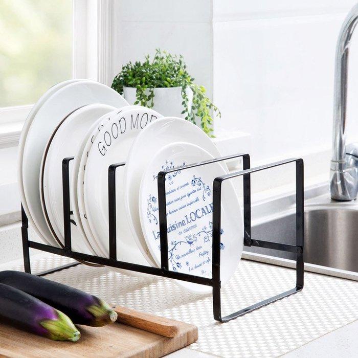 置物架 居家 臺面盤子架廚房碗盤架子置物架家用碗架落地砧板收納架刀架瀝水架