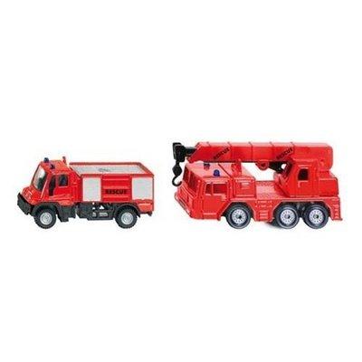 【阿LIN】1661AA SIKU 消防車 模型 玩具 SU1661 精緻 麗嬰國際 正版