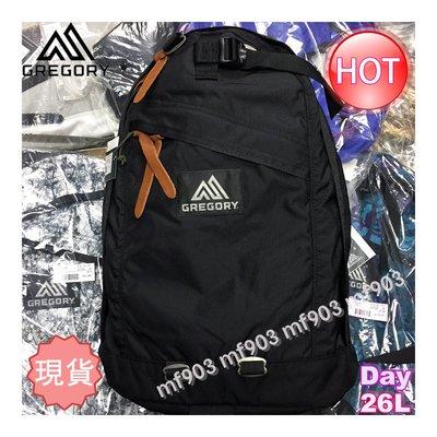最平行貨 美國戶外品牌 Gregory Day Pack 26L Black 背包 Classic Backpack 經典書包 潮流背囊 Supreme Y3