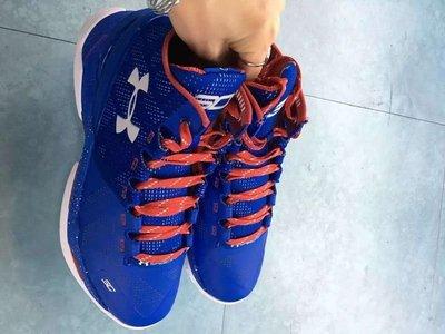 UA Under Armour Curry SC 安德瑪 NBA 庫里 金州勇士隊 男生籃球鞋 彩藍紅