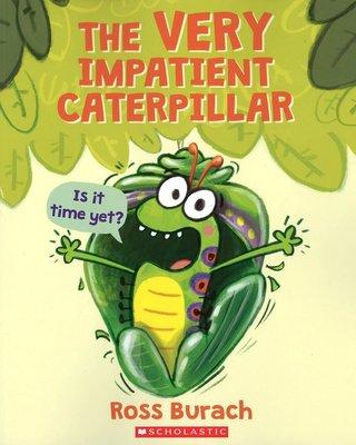 *小貝比的家*THE VERY IMPATIENT CATERPILLAR/平裝/3-6歲/昆蟲/高年級