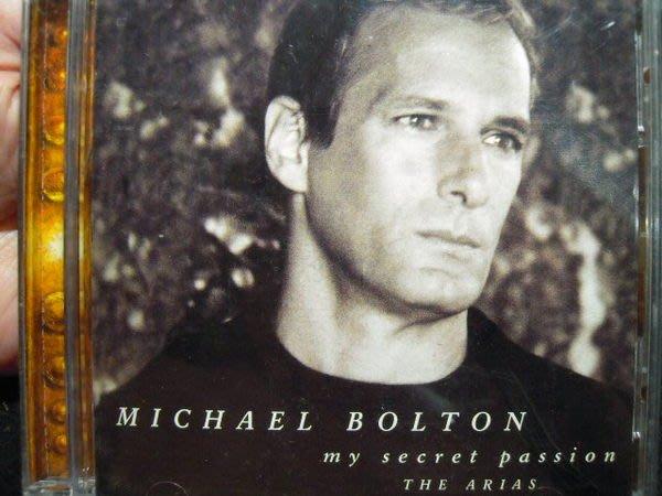 ※布箱子※二手原版CD~ Michael Bolton 【my secret passion】