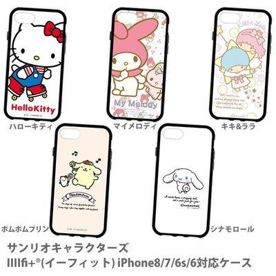 尼德斯Nydus 日本正版 三麗鷗 手機殼 TPU軟殼 Kitty 美樂蒂 雙子星 4.7吋 iPhone8