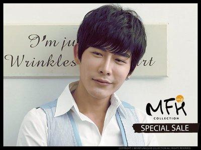 MFH韓國男生假髮 人氣款 俐落髮型【...