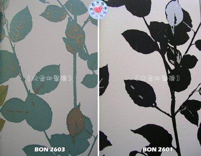 【大台北裝潢】BON台灣現貨壁紙* 自然 葉子(2色) 每支650元