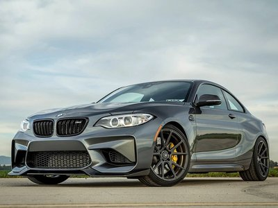 【樂駒】Vorsteiner BMW F87 M2 Front carbon lip 碳纖維 前下擾流 前下巴 空力