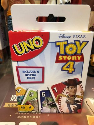 【桌遊侍】UNO玩具總動員4卡牌  實體店面快速出貨 《免運》闔家歡樂.隨身攜帶.Toy Story 4.迪士尼