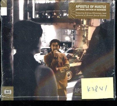 *真音樂* APOSTLE OF HUSTLE / 全新 K3841 (清倉.下標賣4)