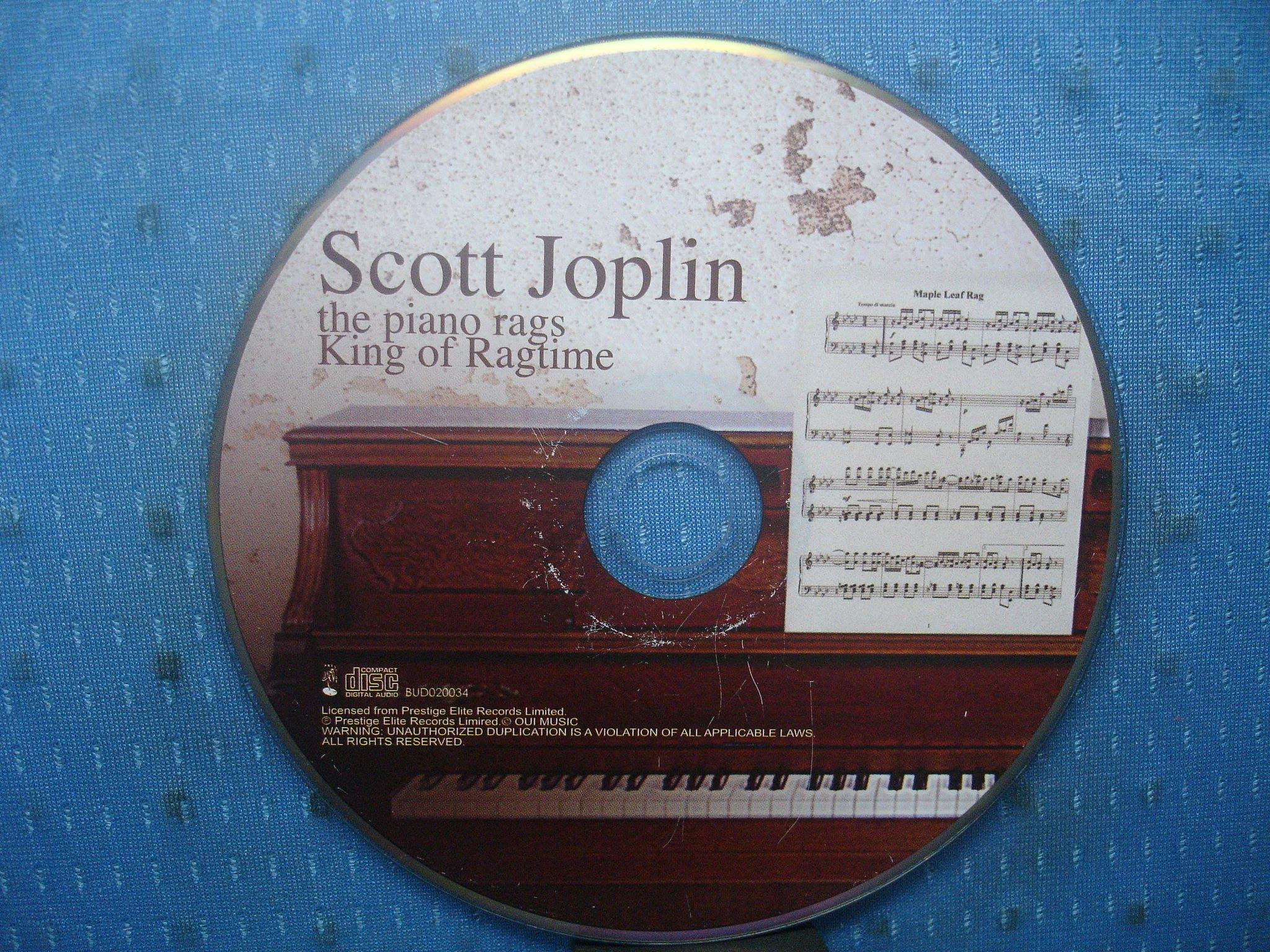 [無殼光碟]HD  Scott Joplin  The Piano Rags [Prestige Elite]
