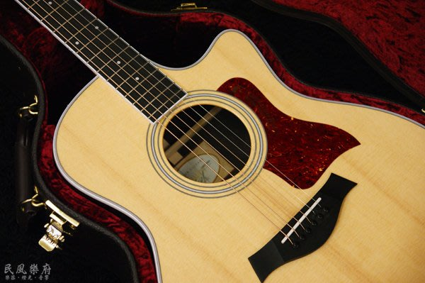 《民風樂府》Taylor 416ce-R 玫瑰木側背板 全新400系列 超高CP值 CITES緣故 此琴已絕版