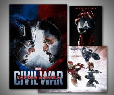 C - R - A - Z - Y - T - O - W - N 美國隊長電影海報掛畫英雄電影漫威系列掛畫鋼鐵人裝飾畫