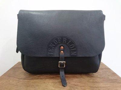 TENDERLOIN × POTER T-MAIL BAG 牛皮 郵差 側背包 正品現貨
