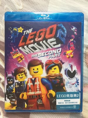 LEGO英雄傳2 LEGO MOVIE 2 THE SECOND PART 香港版 blu-ray 粵語 繁體中文字幕 訂